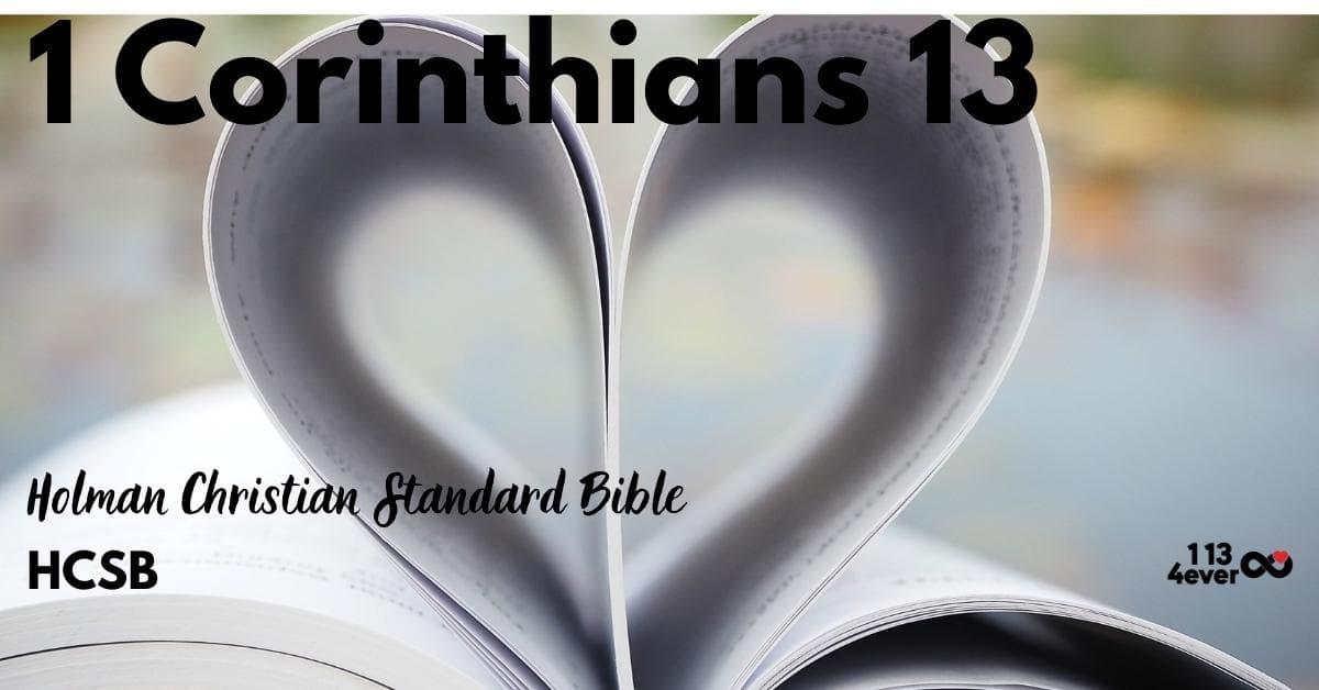1 Corinthians 13 | Holman Christian Standard Bible | HCSB