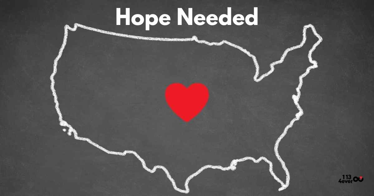 Hope needed in the United States